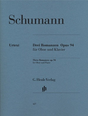 Schumann - Romances for Oboe and Piano Op. 94