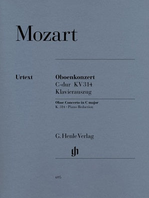 Mozart - Concerto for Oboe and Orchestra C major K. 314