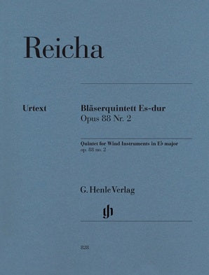 Reicha, A - Quintet E flat major Op. 88 No. 2 for wind quintet
