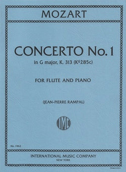 Mozart, WA -Concerto for Flute and Orchestra G major K. 313 (IMC)