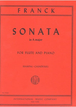 Franck - Sonata Arranged For Flute & Piano (IMC)