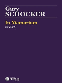 Schocker, Gary - In Memoriam For Flute and Harp