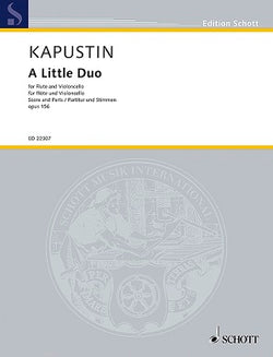 Kapustin, N: A Little Duo op. 156 for flute and cello