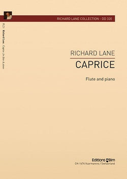 Lane, Richard  - Caprice for flute and piano