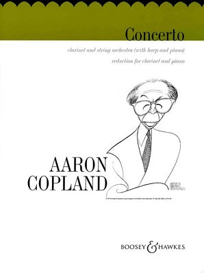 Copland - Concerto for Clarinet