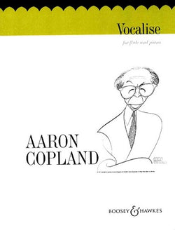 Copland, A - Vocalise for flute and piano