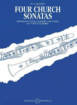 Mozart, W A - Four Church Sonatas K.67, K.68, K.244, K.336