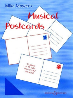 Mower,Mike - Musical Postcards Piano Accompaniment