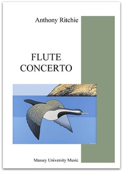 Ritchie, Anthony - Flute Concerto Study Score