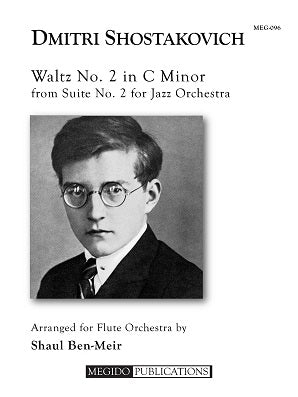 Shostakovich, Dmitri - Waltz No. 2 in C Minor for Flute Orchestra