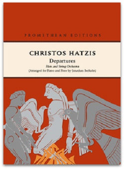 Hatzis,Christos : Departures (Chamber Duo)  Concerto for Flute & Piano
