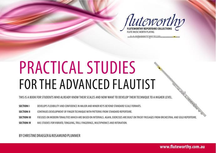 Practical Studies for the Advanced Flautist by Christine Draeger and Rosamund Plummer