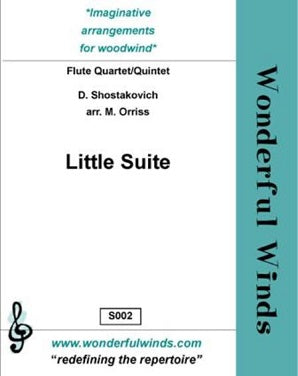 Shostakovich: Little Suite for quartet/quintet