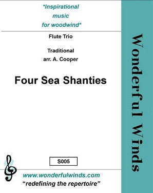 Trad -  Four Seas Shanties for 3 flutes