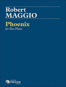 Maggio, Robert  - Phoenix for two flutes