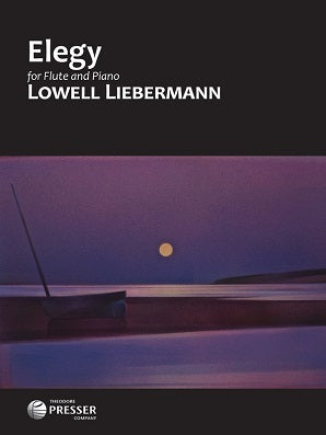 Liebermann , L -Elegy for flute/Piano (Presser)