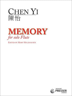 Yi ,Chen - Memory for solo flute