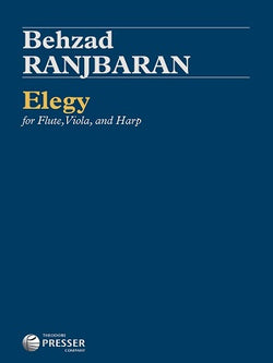 Behzad, Ranjbaran -Elegy for flute viola and harp