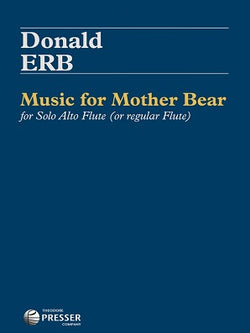 Erb, D - Music for Mother Bear -for Solo Alto Flute (or Regular Flute)