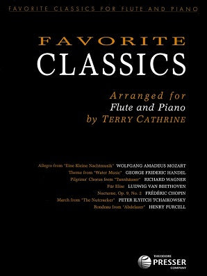 Favorite Classics for flute and piano