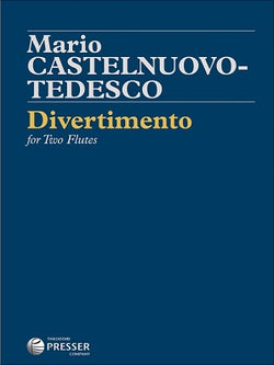 Castelnuovo-Tedesco, Mario - Divertimento for two flutes