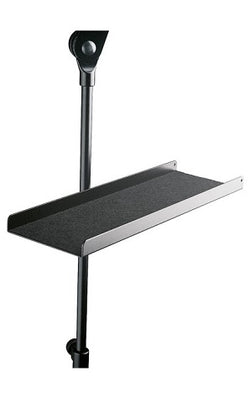 K & M Music Stand Shelf - black