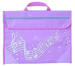 Wavy Stave Music Bag - Various Colours