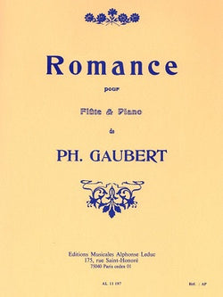 Gaubert -  Romance for Flute & Piano (Leduc)