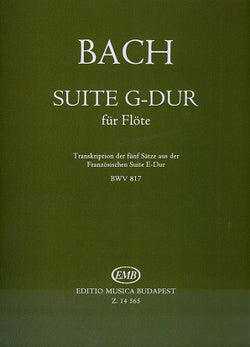 Bach, Johann Sebastian: Suite G-Major BWV 817