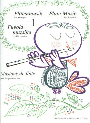 Flute Music for beginners Edited by Bántai Vilmos, Kovács Imre