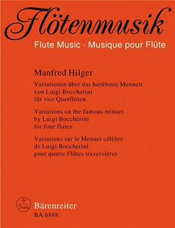 Hilger Manfred	Variations on the Famous Boccherini Minuet.