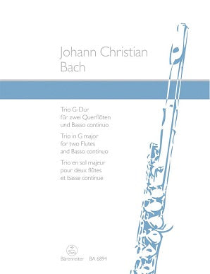 Bach Johann Christian	Trio in G.