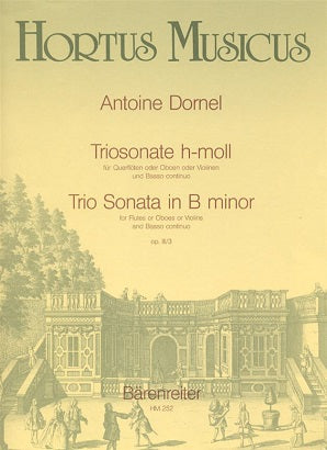 Dornel Antoine	Trio Sonata in B minor, Op.3/3.