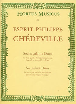 Chedeville Esprit Philippe - Galant Duos (6).