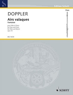 Doppler - Airs Valaques OP 10 Flute and Piano
