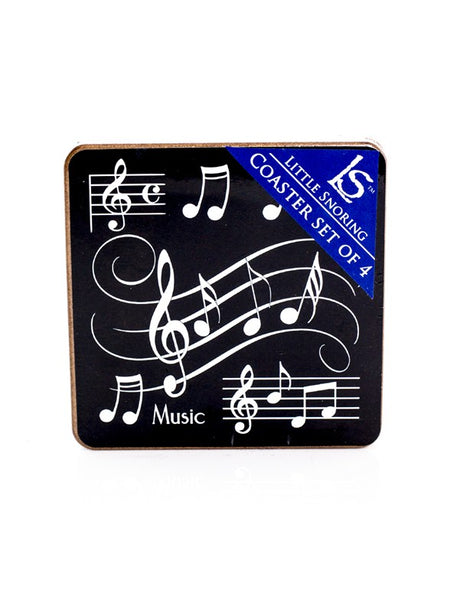 Four Musical Notes Coasters