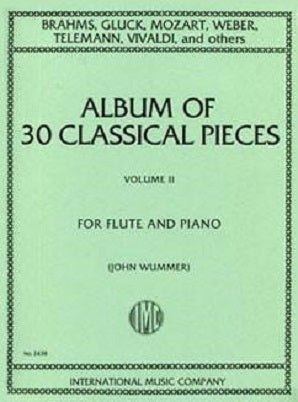 30 Classical Pieces for flute Vol 2