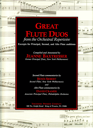 Baxtresser/Posnock/Dorff - Great Flute Duos from the Orchestral Repertoire
