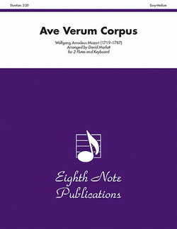 Mozart/Marlatt - Ave Verum Corpus for two flutes and piano
