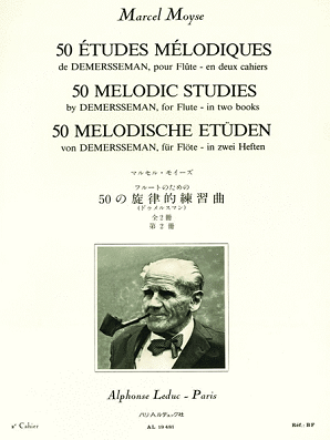 Moyse, Marcel - 50 Melodic Studies After Demersseman, Op. 4 - Volume 2