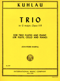 Kuhlau ,Friedrich - Trio in G Major op 119 for flute, cello and piano (IMC)