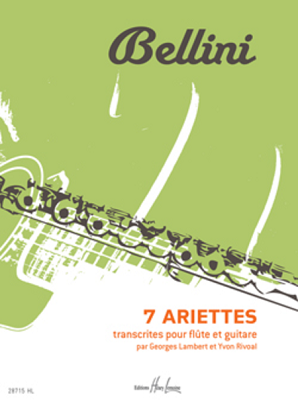 Bellini - Ariettes 7 for flute and guitar