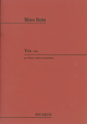 Rota, Nino - Trio for Fl, Vl & Pno (Ricordi)