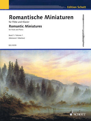 Romantic Miniatures for Flute & Piano Volume 1