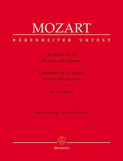 Mozart - Concerto No. 1 G major K 313 for Flute and Piano (Barenreiter)