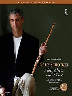 Gary Schocker - Flute Duets with Piano - Flute Play-Along Book/CD Pack
