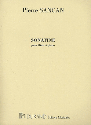 Sancan, P - Sonatine for Flute and Piano (Durand)