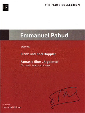 "Verdi, Giuseppe - Franz Doppler; Karl Doppler: Fantasy on ""Rigoletto"" for 2 flutes and piano op. 38 (UE)"