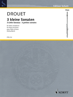 Drouet - 3 Little Sonatas for Flute and Piano