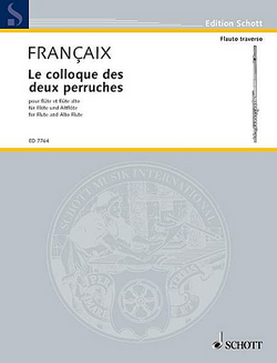Francaix - Conversation Of two Parakeets for Alto flute and C flute